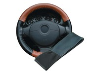 110092 STEERING WHEEL COVER - BLUE/BLACK