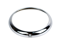 113064 Headlamp Chrome Trim Ring - Amazon & PV