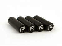 "111327 Door Lock Pin Set Black With ""R"" Logo"