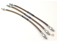 107018 Stainless Steel Brake Line Kit - 1800 Models