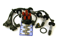 115047 Ignition Tune-up Kit 1993-1998 850 C70 S70 V70 w/ Plug wires + Volvo Plugs