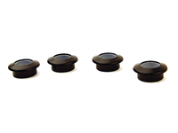Door Lock Pin Bezel Set - Black