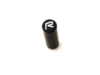 "111362 Door Lock Pin - Black With ""R"" Logo"