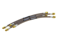 104136 STAINLESS STEEL BRAKE LINE KIT 1998-2000 P80 C70 S70 V70 AWD